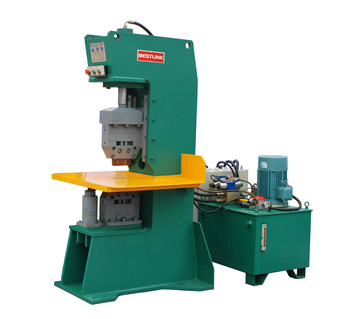 Granite paving stone splitting guillotine machine ,Stone stamping machine
