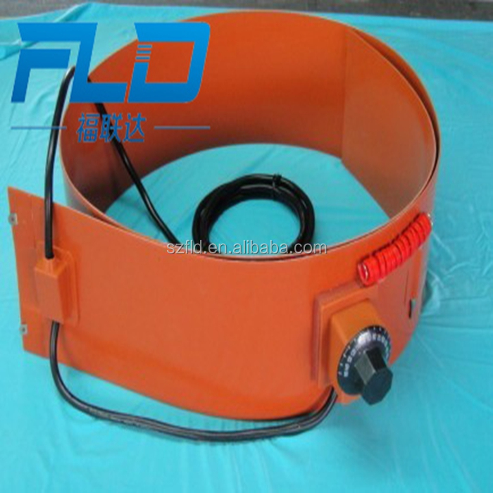 Customize 220V flexible silicone 55 gallon drum heaters