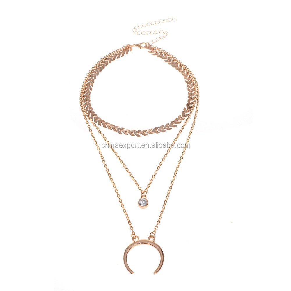 Body chain women accessories 2018 gold necklace