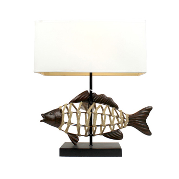 Antique Fish Shape Table Lamps For Home