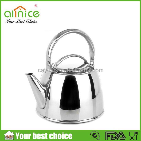 Mirror polishing induction cooker kettle/stainless steel tea kettle/kettle for induction cooker