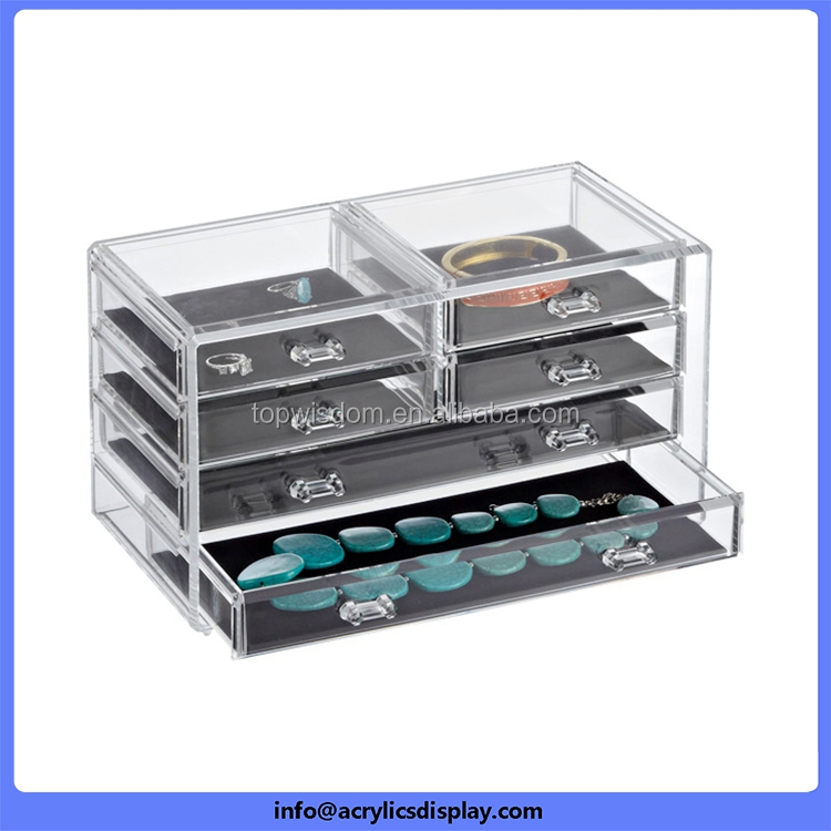 China gold manufacturer Supreme Quality famous brand acrylic makeup organizer