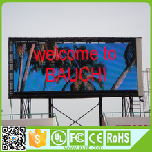 High brightness Outdoor led advertising P6 display, 6MM screen outdoor digital display signs