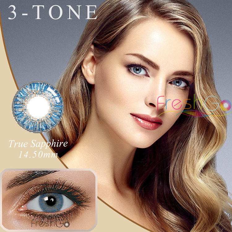 Freshgo Beauty 1 Color Contacts Cheap Colored Contact Eye