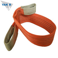 Polyester 5 ton webbing sling belt type/acid resistant slings/nylon lifting sling