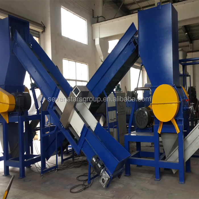 plastic waste PVC recycling machine/PVC pipe washing line/PVC profile washing line
