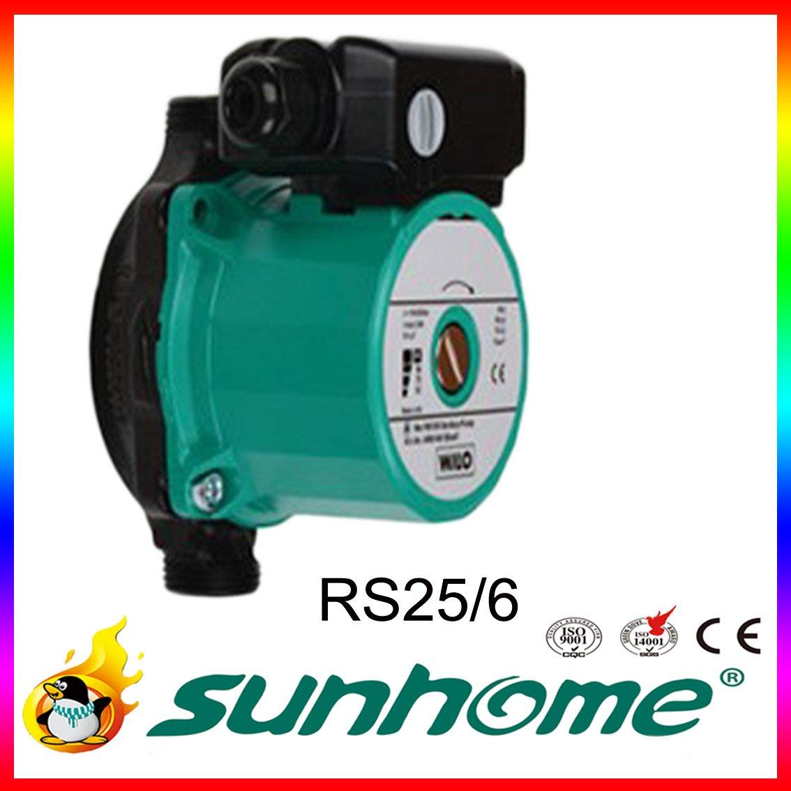warmwasser zirkulationspumpe rs25 6 220v 50hz umw lzpumpe solaranlage. Black Bedroom Furniture Sets. Home Design Ideas