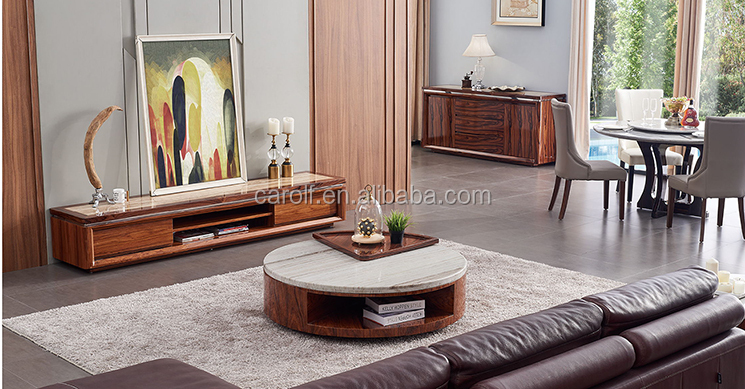 fashion marbleand wooden tv cabinet designs