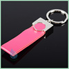 2014 new wedding souvenirs leather key chain