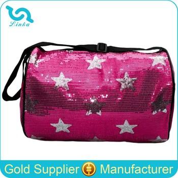 ... save off 54fda bb929 Fancy Star Pattern Sequin Rolling Dance Bag For  Girls ... b820c13b30e87