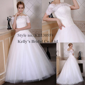 Kb13055v French Lace Bodice And Tulle Skirt Free Shipping Worldwide ...