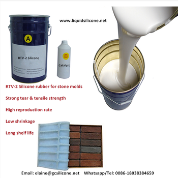 Dongguan good price molding silicone rubber long life time rtv liquid silicone for mold making