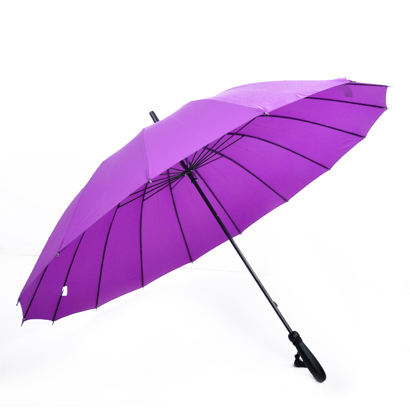 S23-04 customized advertising straight umbrellas 16 ribs