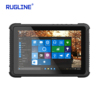 DDR3L 4GB NGFF SSD 128GB Intel 10.1 Inch Rugged Tablet PC with Win10 Home OS Waterproof Shockproof Computer for Industrial
