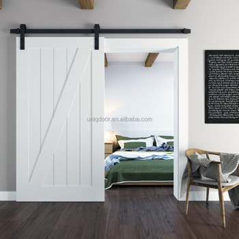 Genial Paint Grade Interior Wood Barn Door