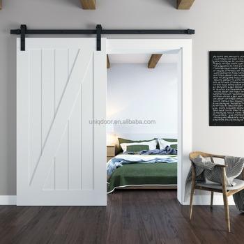 Paint Grade Interior Wood Barn Door