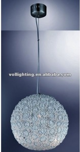 Especial ball aluminum wire chandelier