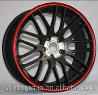 ALL KINDS OF ALUMINUM CAR ALOY WHEEL RIMS LOW PRESURE CASTING WHEEL WITH DIFFERENT SURFACE TREATMENT