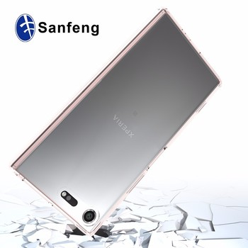 low priced a987b ec7cb For Sony Xperia Xz Premium Crystal Clear Hybrid Tpu Frame Cell Phone Cover  Case For Sony Xperia Xz Premium Dual - Buy For Xperia Xz Premium Phone ...