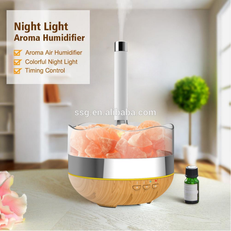 Smart Home kits 400ml portable air humidifier aroma diffuser lamp with smart phone remote control