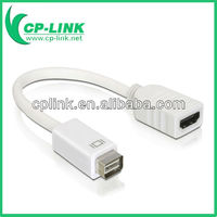 Mini DVI MiniDVI to HDMI 1080P HD Adapter Cable For App Macbook
