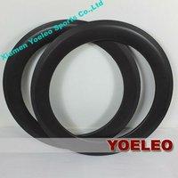 carbon fiber bmx bicycle wheels 20 inch rims clincher 50mm for BMX Bike 3K/12K/UD