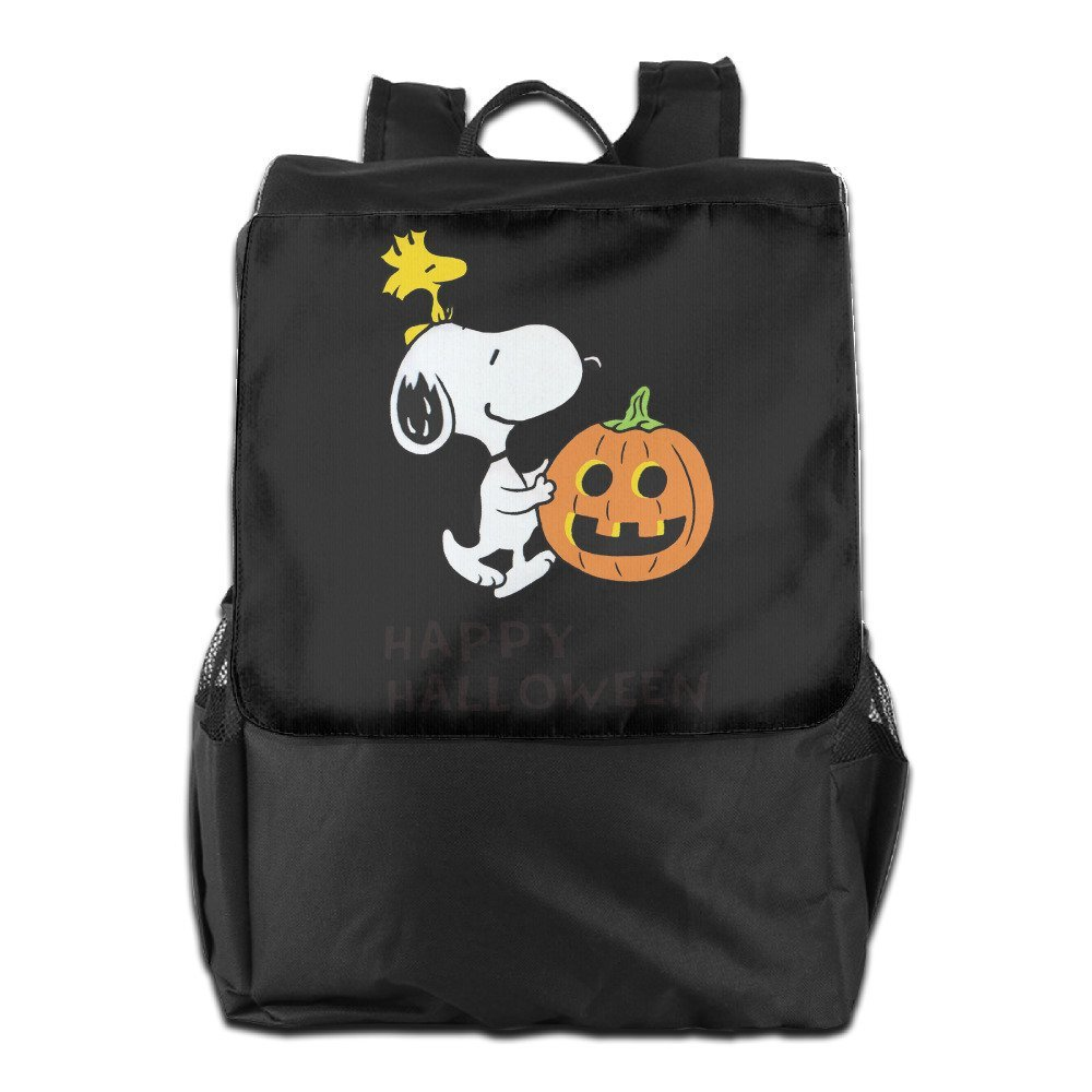 c4d3da49c5 Get Quotations · Outdoor Travel Bag - Happy Halloween Snoopy Unisex Backpack  Daypack Bookbags Rucksack College Backpack