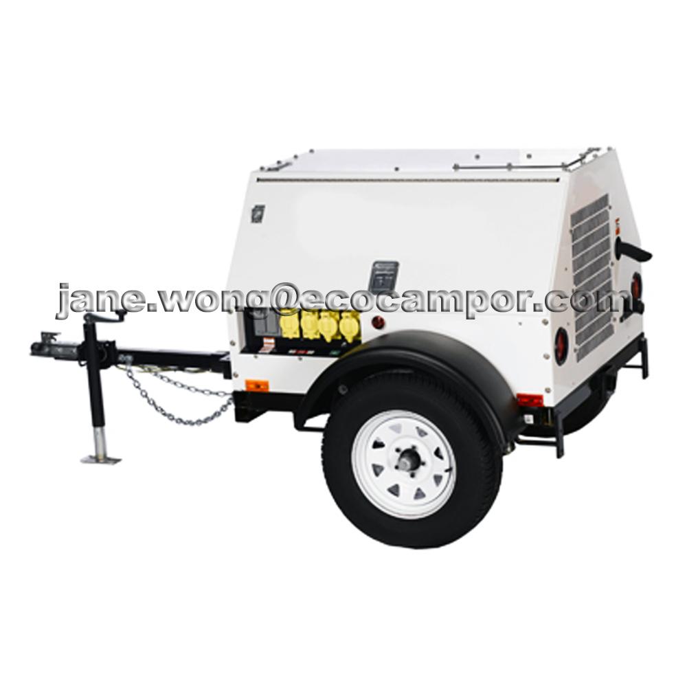 Peque o precio generadores diesel con remolque generadores - Generadores electricos pequenos ...