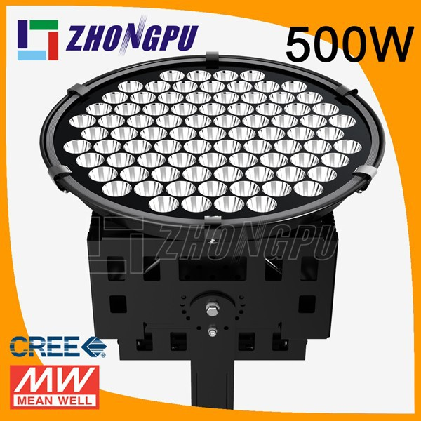 500w LED Projector with Narrow Beam Angle 5 10 20 30 60 degree