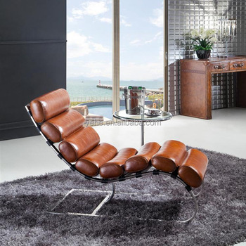 Wonderful Leather Chaise Lounge,Bilbao Chair