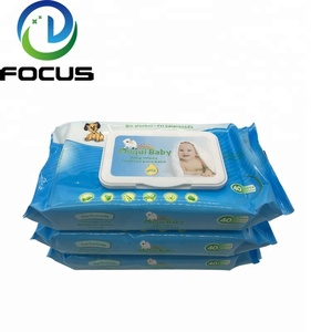 Hot Selling Cheap Natural Baby Wet Wipes Organic Bamboo or Cotton Wet Wipes Factory from China