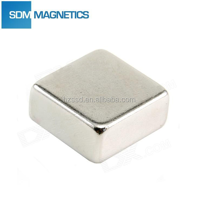 N35 50.8x50.8x25.4mm Huge Block Neo Magnets for Magnetic Chuck