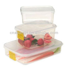 Oblong Plastic food storage Container