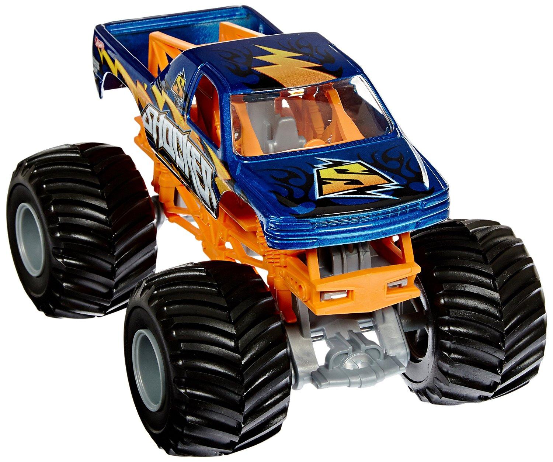 Hot Wheels Monster Jam Shocker 2011 Die-Cast Vehicle, 1:24 Scale