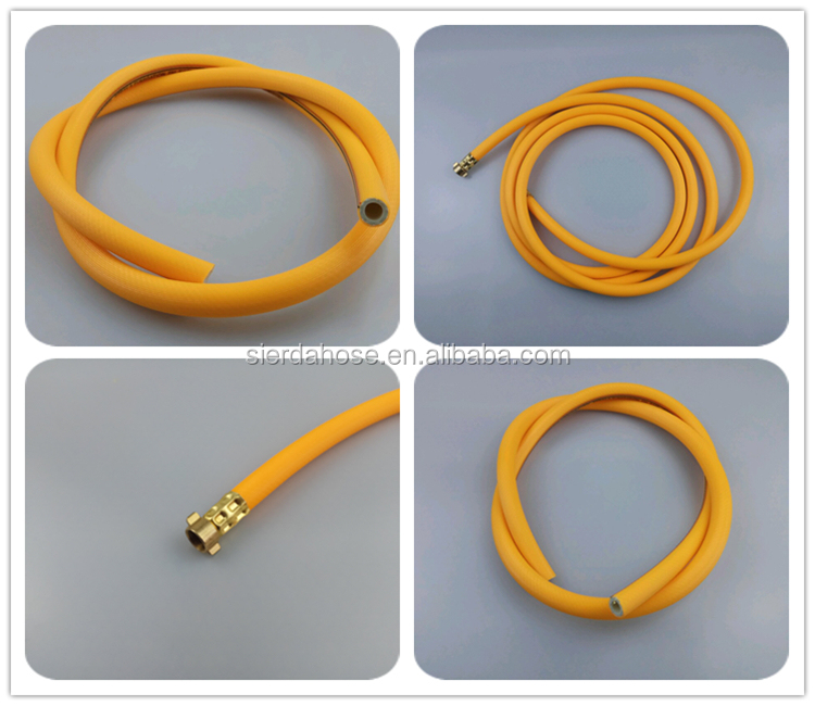 high burst pressure 5 layers braided  PVC spray hose