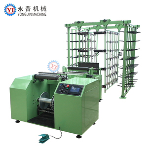 China made elastic tape belt yarn creel sectional tensioner warping machine