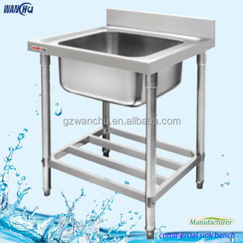 Singel Bowl Outdoor Stainless Steel Laundry Sink Hans Kitchen Basin ...