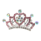 Crystal rhinestone Queen crown&tiara for decorative
