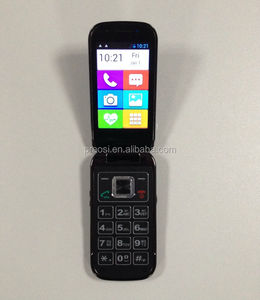"3.2"" Big button elderly mobile phone with 3G Cell phone SOS GSM+WCDMA Android phone"