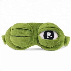 New waterproof funny animal cartoon 3d eye mask patch