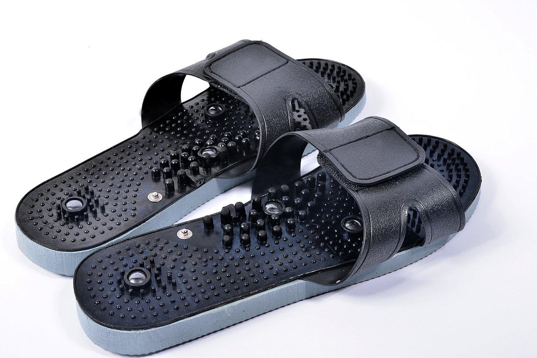 ARWELO Shoes TENS Unit Electronic Massager Electrode Sandals Shoes Slippers , medium size, Unisex Lifetime Warranty.