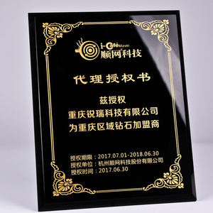 NEW Customized design personalized fashion crystal plaque award crystal plaque trophy plaque for engraving
