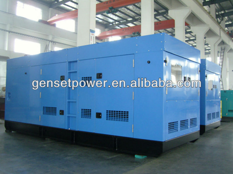 With Cummins Engine Silent Single Phase Diesel Generator
