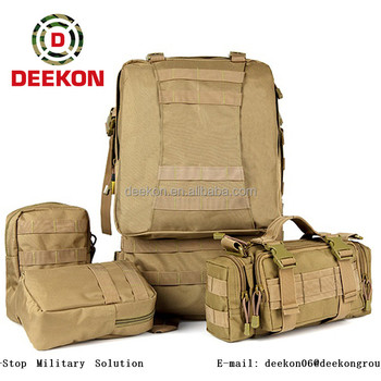 08b01e422955 Tactical Military Backpack Outdoor 3 Day Assault Packs 50L Rucksack 1000D  Army Molle Bug Out Bag