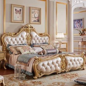 313 # Venta Caliente Muebles De Lujo King Size Juego De Cama De ...