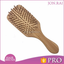Wholsale excellent Personal Care Bamboo Bristle Hair Brush Fashion