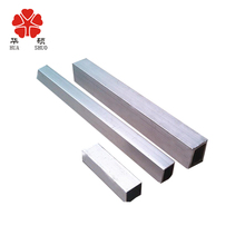 wholesale decorative small square aluminum tube