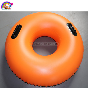 Orange Water Park Single Lazy River Tube For Kids