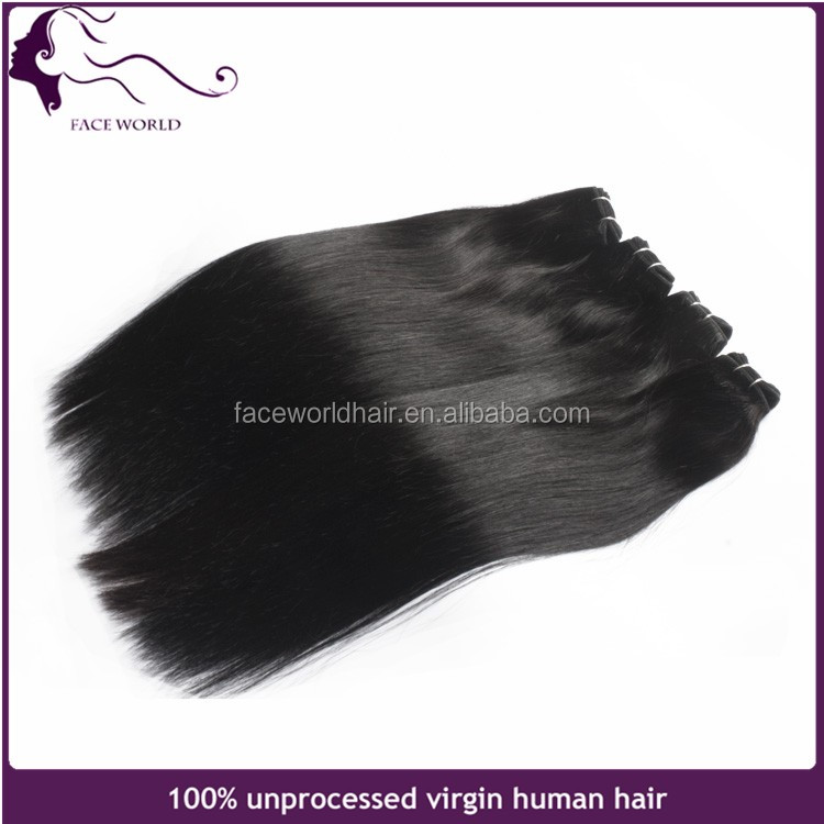 Top quality fashion virgin remy human hair weaving big stock Brazilian hair weft extension