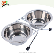 Wholesale Pet Bowls & Feeders Elevated Dog Stainless Steel Bowl Foldable Bowl For Pets
